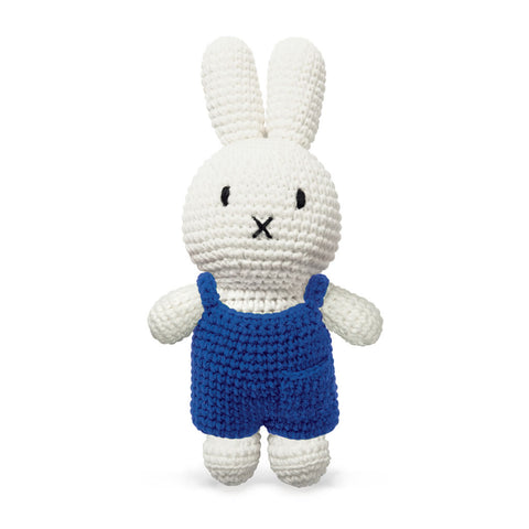 Miffy Handmade crochet and her blue overall Miffy Handmade Blue Overall