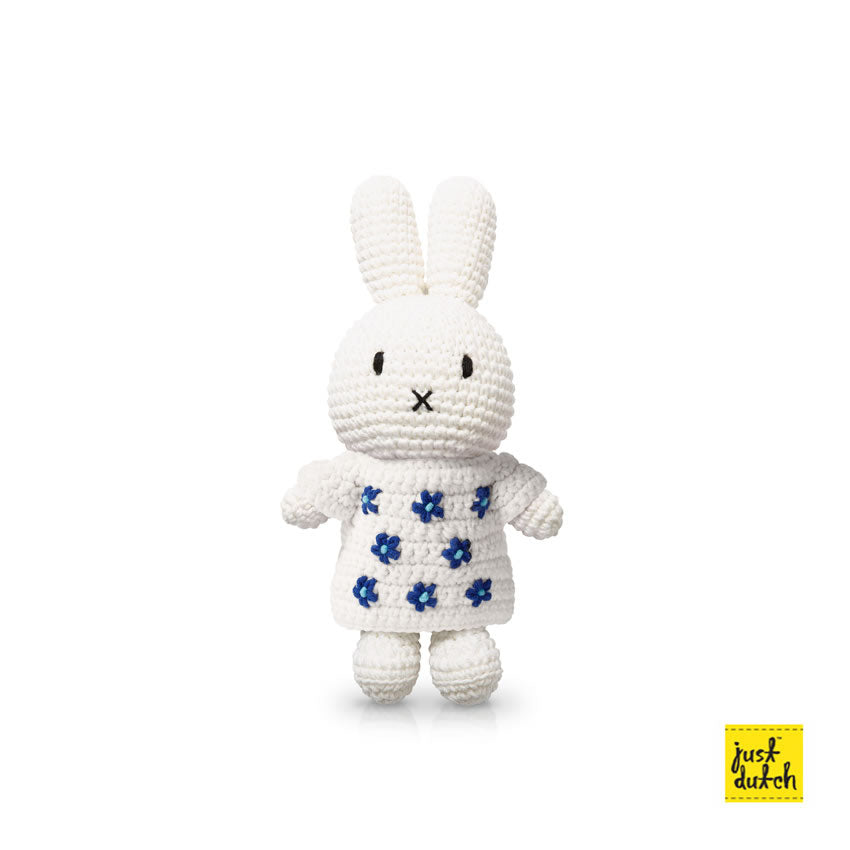 Miffy handmade crochet and her delfts blue dress