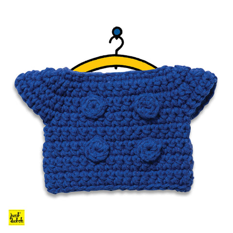 Miffy Handmade clothes set, blue jacket Miffy Handmade Clothes