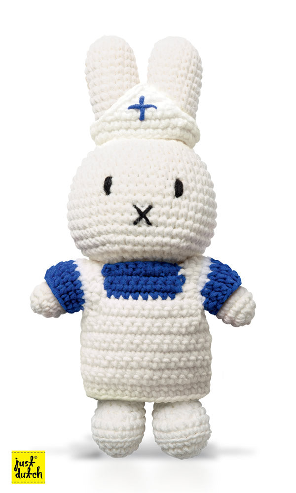 Miffy Handmade crochet and her white uniform Miffy Handmade White Uniform