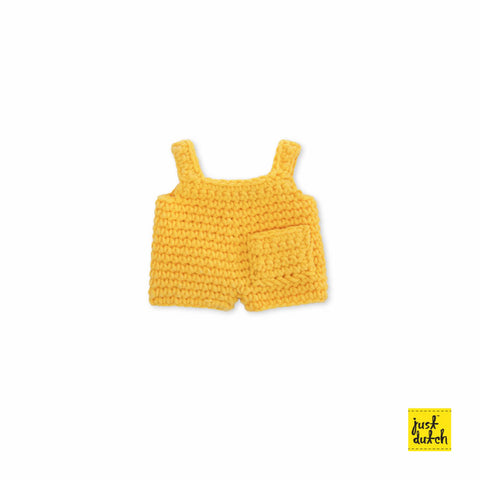 Miffy handmade clothes yellow overall Miffy Handmade Clothes