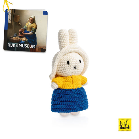 Miffy handmade crochet and her Milkmaid outfit Miffy handmade crochet and her Milkmaid outfit