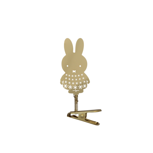 Miffy Decorative Gold Clip