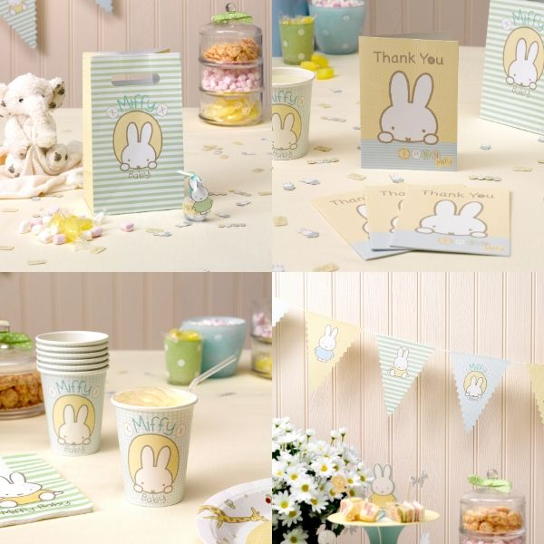 Miffy baby party pack - Party bundle