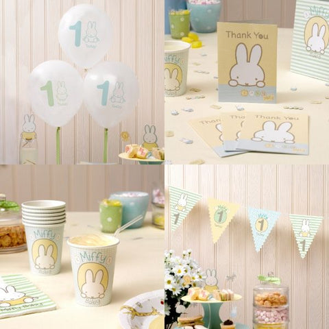 Miffy 1st Birthday pack - Party bundle