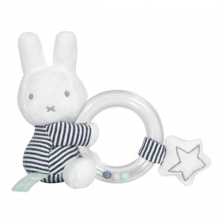 Miffy Black and White Ring Rattle