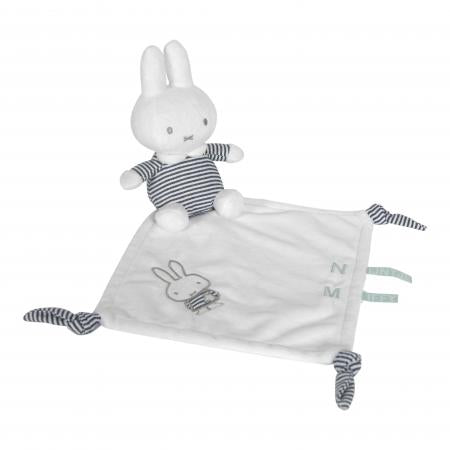 Miffy Black and White Stripes Cuddle Cloth Comforter