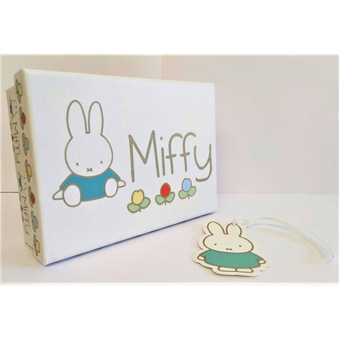 Miffy gift box and tag Miffy gift box and tag