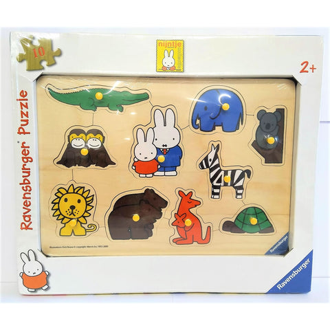 Miffy wooden 10 piece Ravensburger Puzzle Miffy wooden 10 piece Ravensburger Puzzle