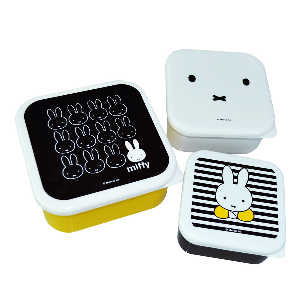 Miffy set of 3 Storage Tubs Miffy set of 3 Storage Tubs