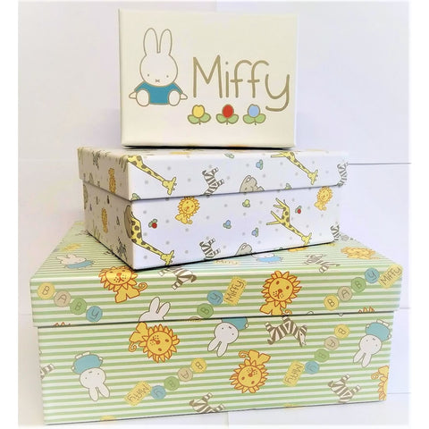 Miffy set of 3 storage or gift boxes Miffy set of 3 storage or gift boxes