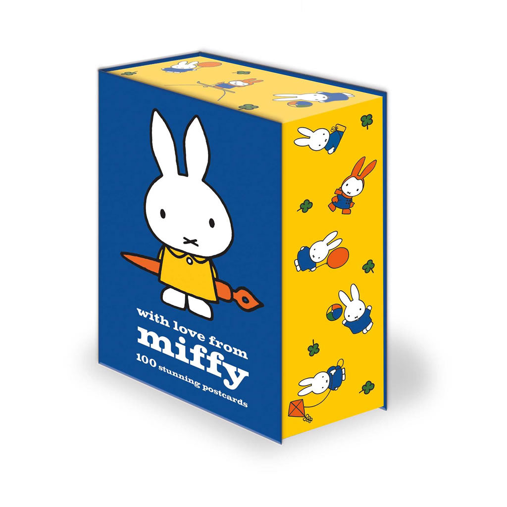 Miffy Postcard Set - a gorgeous collection of 100 postcards 100 Postcard Set