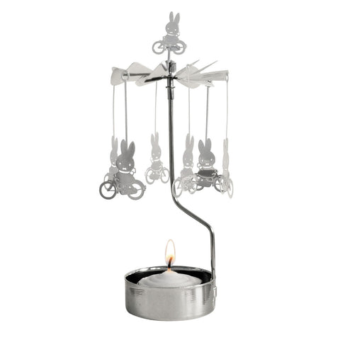 Miffy Bike Rotary Candle Holder