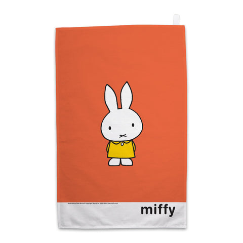 Miffy in a Yellow Dress Tea Towel