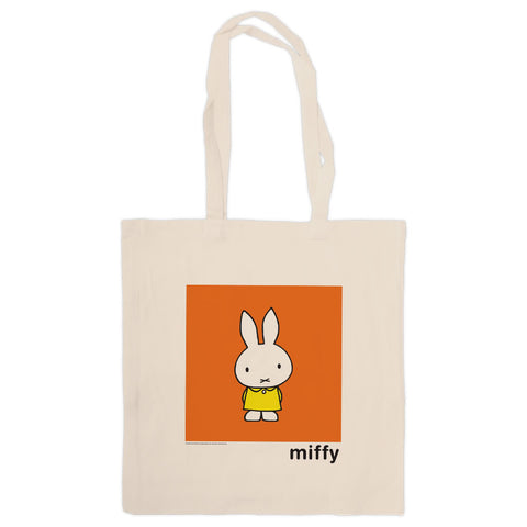 Miffy in a Yellow Dress Tote Bag
