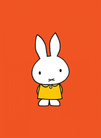Miffy in a Yellow Dress Mini Poster Mini Poster