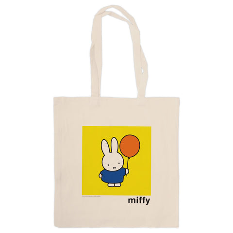 Miffy Holding a Balloon Tote Bag