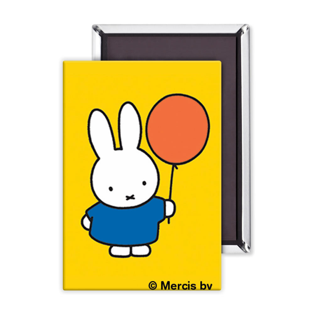 Miffy Holding a Balloon Magnet
