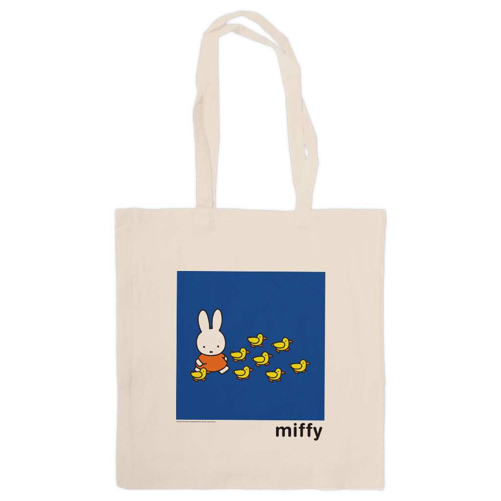 Miffy Walking with Ducks Tote Bag