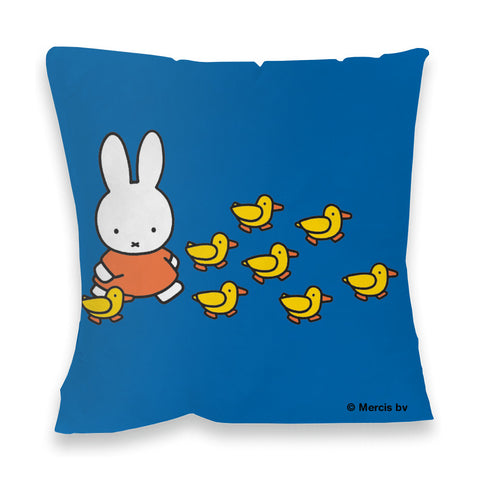 Miffy Walking with Ducks Cushion