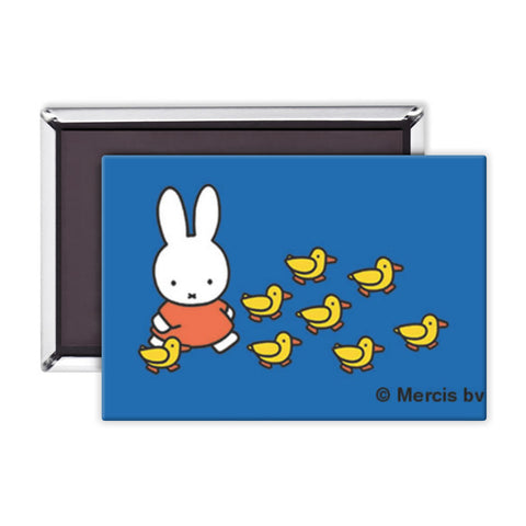 Miffy Walking with Ducks Magnet