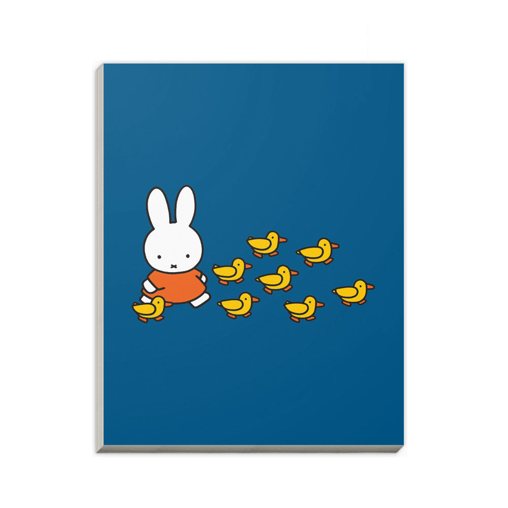 Miffy Walking with Ducks A6 Notepad