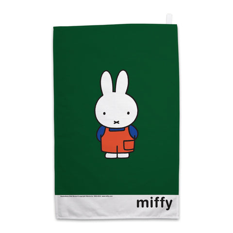 Miffy in Dungarees Tea Towel