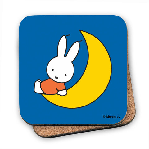 Miffy Sat on the Moon Cork Coaster