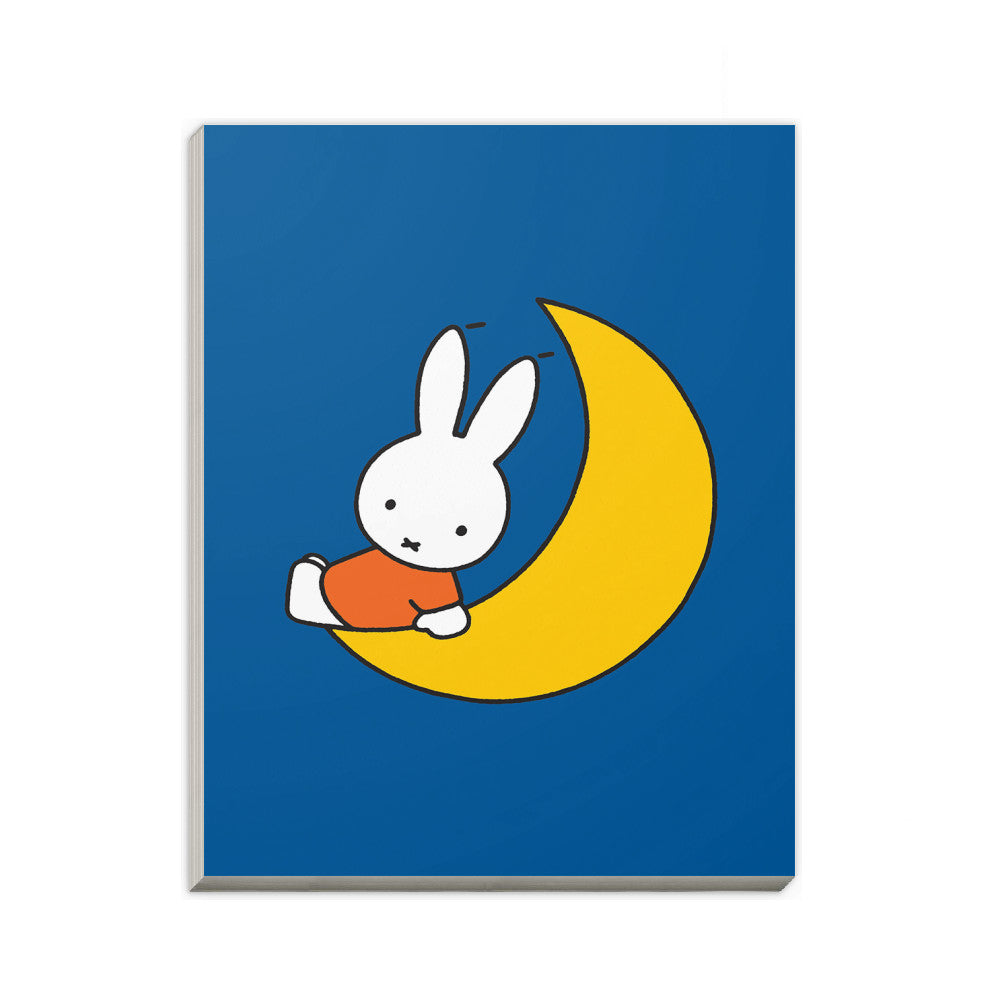 Miffy Sat on the Moon A6 Notepad