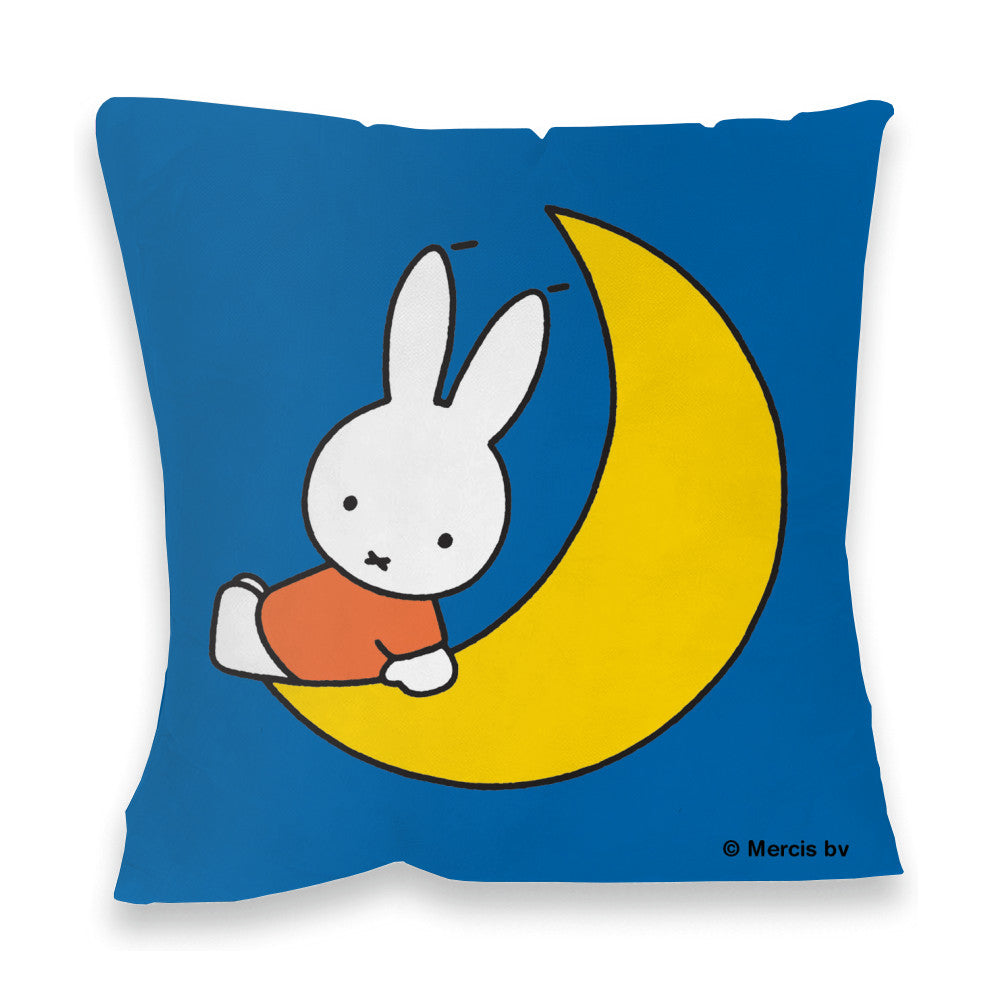 Miffy Sat on the Moon Cushion