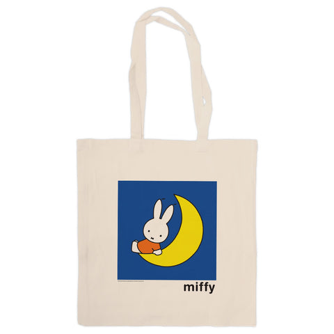 Miffy Sat on the Moon Tote Bag