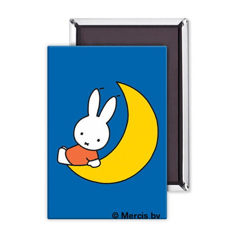 Miffy Sat on the Moon Magnet