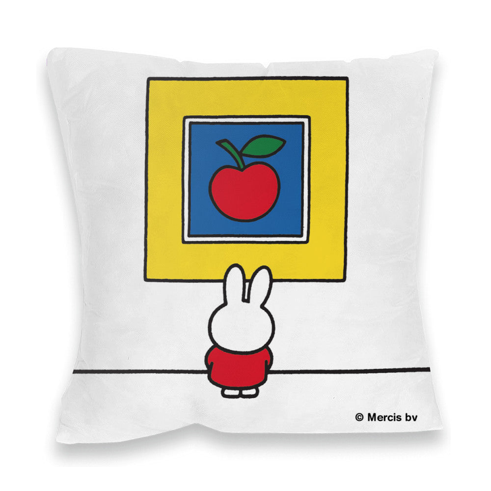 Miffy at an Art Gallery Cushion