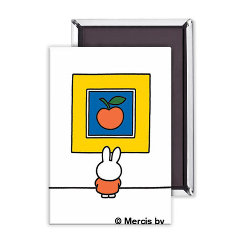 Miffy at an Art Gallery Magnet
