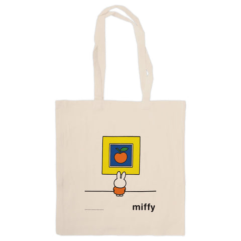 Miffy at an Art Gallery Tote Bag