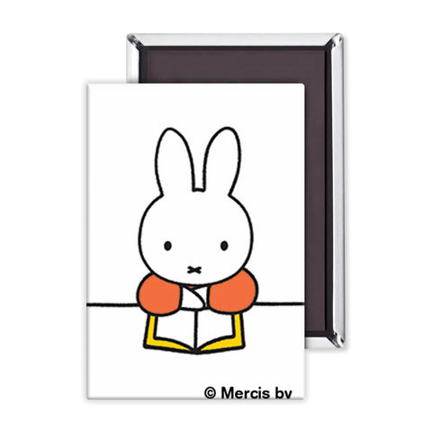 Miffy Reading a Book Magnet
