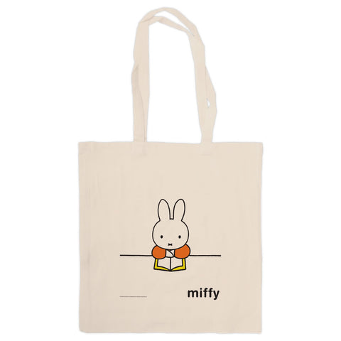 Miffy Reading a Book Tote Bag