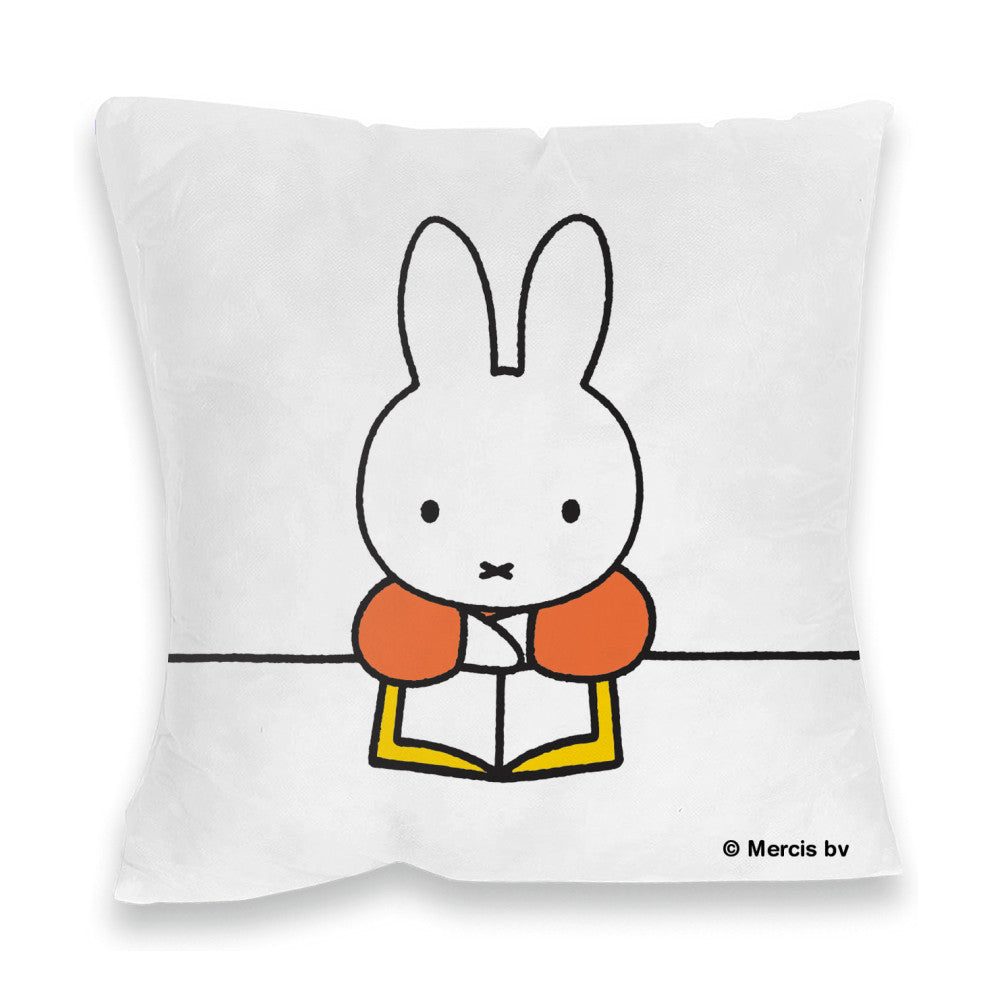 Miffy Reading a Book Cushion