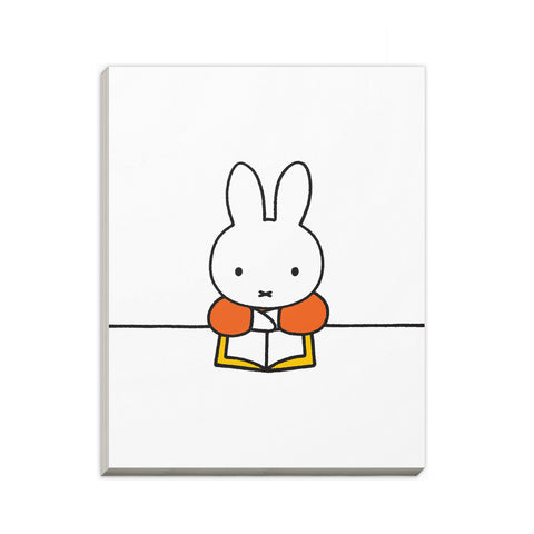 Miffy Reading a Book A6 Notepad