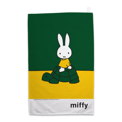Miffy on a Tortoise Tea Towel