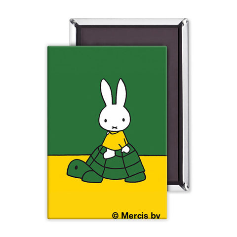 Miffy on a Tortoise Magnet