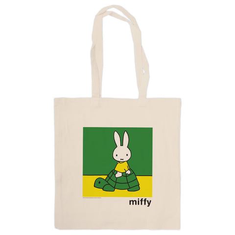 Miffy on a Tortoise Tote Bag