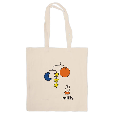 Miffy with a Planet Mobile Tote Bag