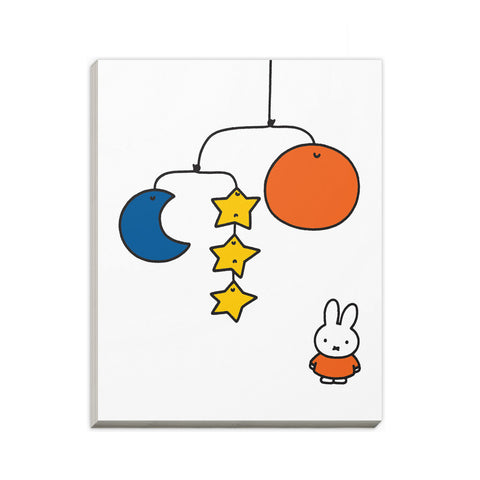 Miffy with a Planet Mobile A6 Notepad