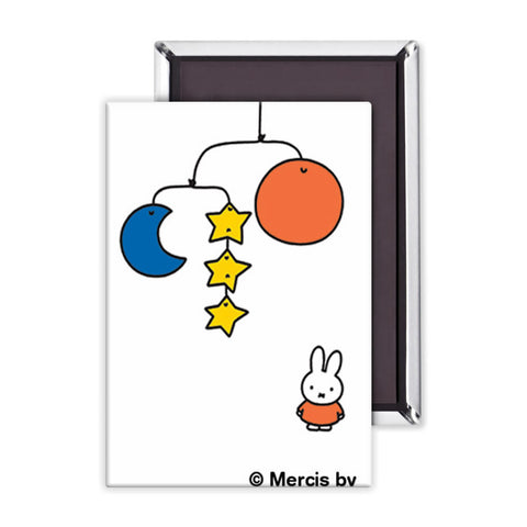 Miffy with a Planet Mobile Magnet