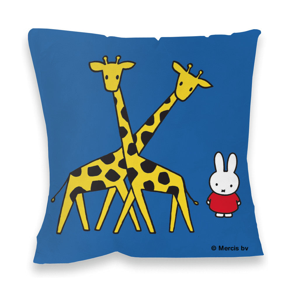 Miffy with Two Giraffes Cushion