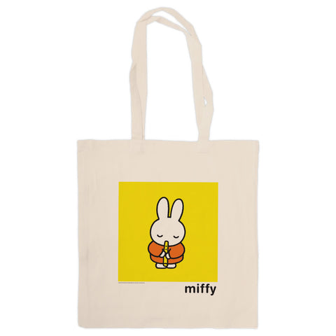 Miffy Playing the Recorder Tote Bag