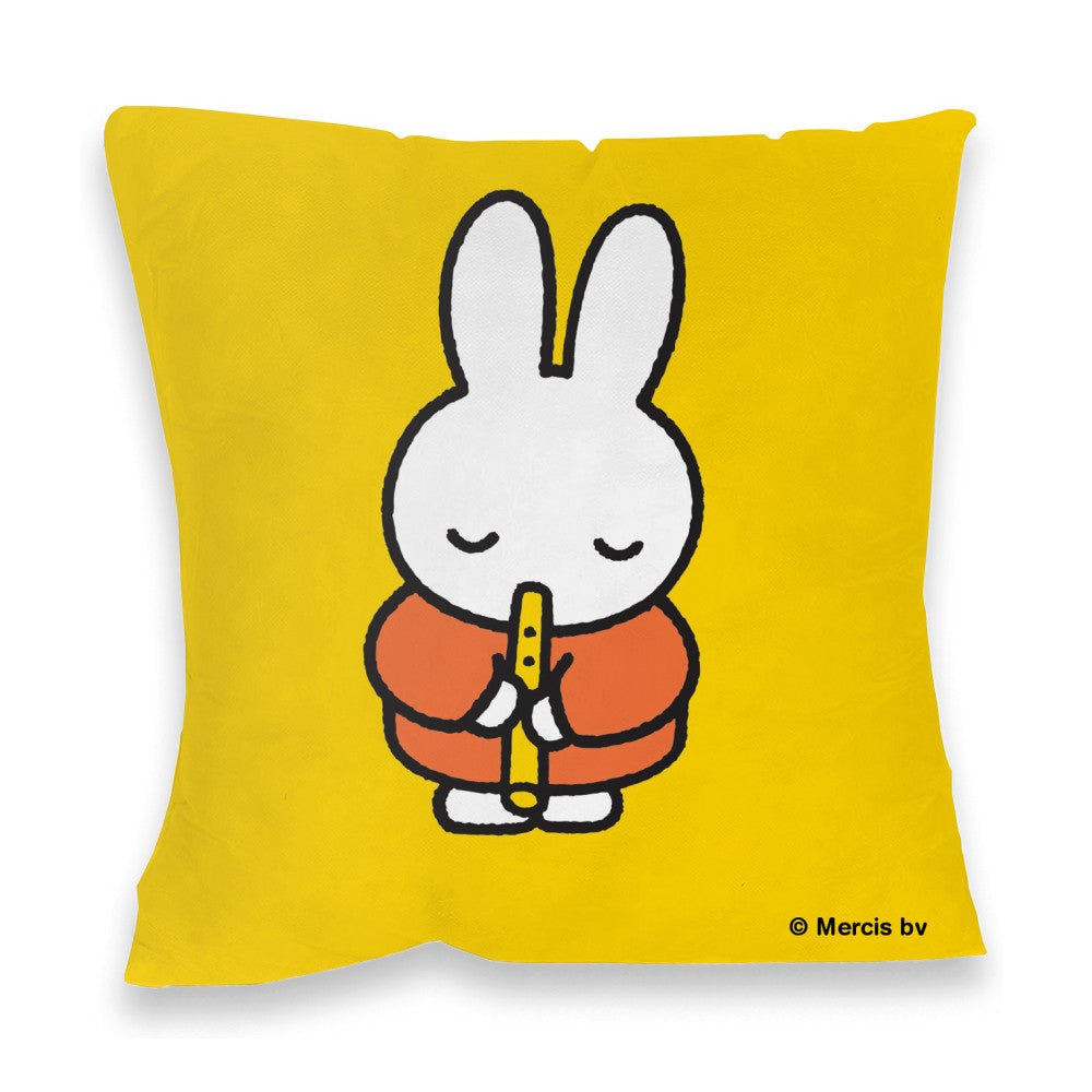 Miffy Playing the Recorder Cushion