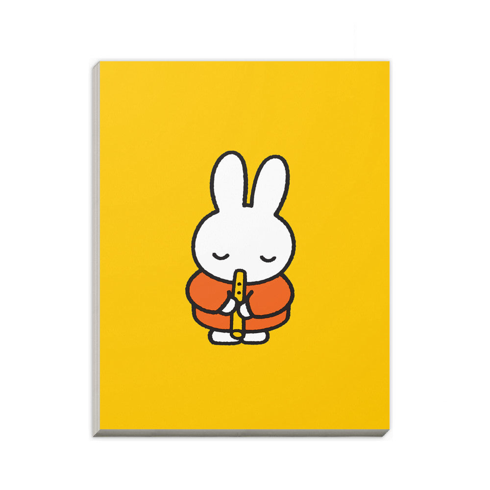 Miffy Playing the Recorder A6 Notepad