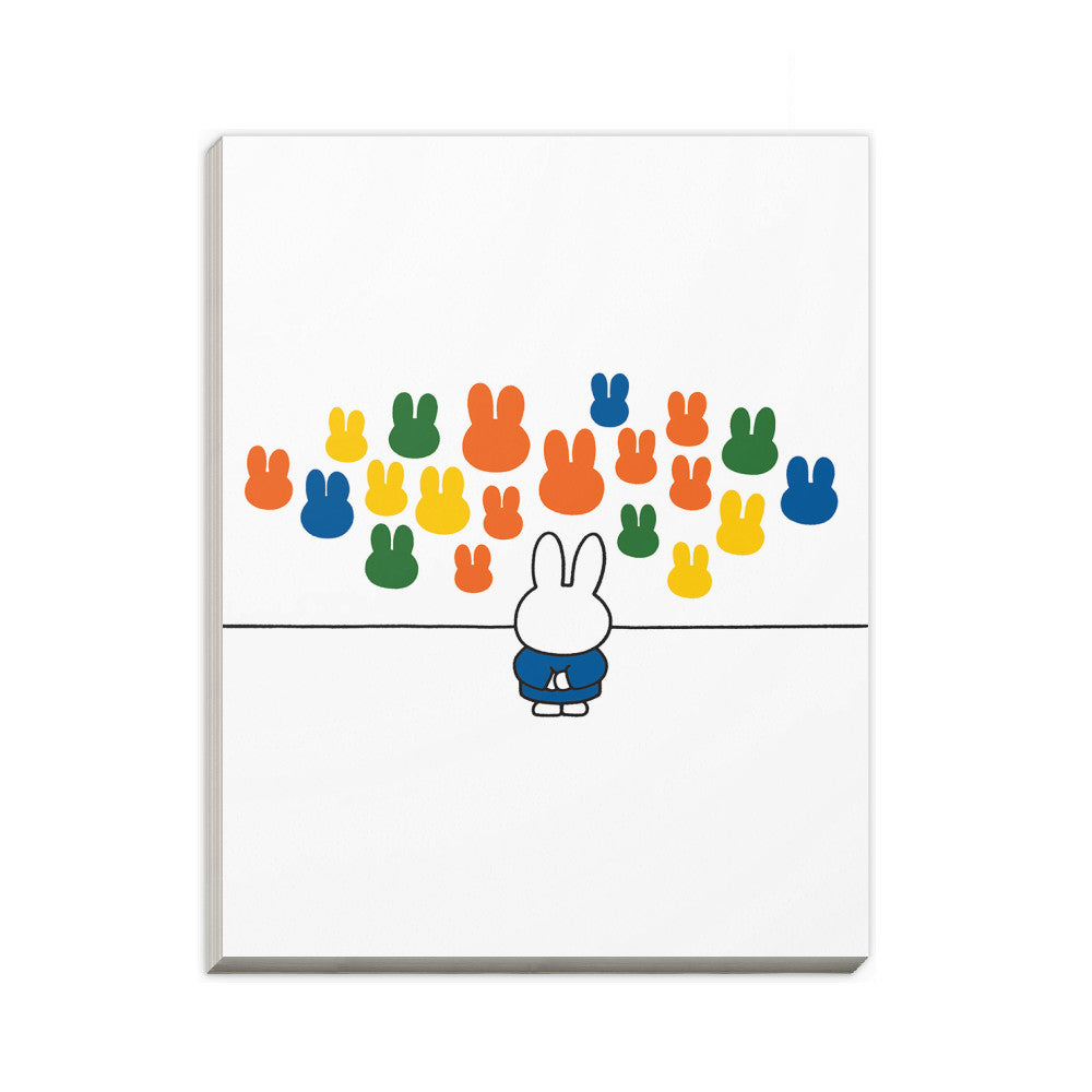 Miffy at an Art Gallery A6 Notepad